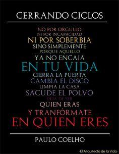 Cerrando Ciclos - Paulo Coelho