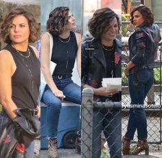 Awesome Lana (Regina) #Once #BTS #Once #S7 E3 #TheGardenofForkingPaths #NewWestminsterBC #VancouverBC #Canada Monday 7-31-17