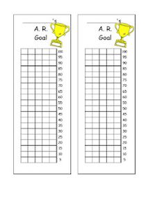 Goal Bookmarks, I could use these for reading goals! Ar Reading, Reading Goals, Teaching Reading, Elementary Library, Elementary Teacher, Ar Goals, Classroom Freebies, Classroom Ideas, Classroom Tools