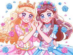 Disney Posters, Disney Cartoons, Barbie Tumblr, Barbie Drawing, Barbie Cartoon, Princess And The Pauper, Pixel Characters, Little Poney, Pretty Drawings