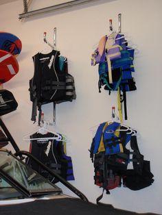 wakeboard/surfboard storage racks for the garage - Wakesurfing