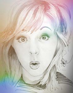 Lindsey Stirling dibujo lapiz #dibujo