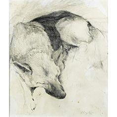 43: Andrew Wyeth (American, 1917-2009) : Lot 43