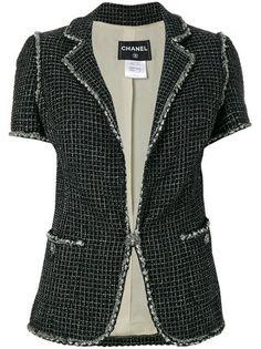 Chanel Vintage однобортный пиджак