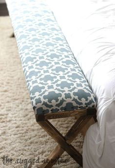 super easy diy upholstered bench, diy, home decor, home improvement, how to, rustic furniture