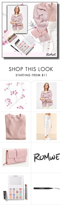 """""""Romwe 2."""" by smajicelma ❤ liked on Polyvore featuring H&M, Polaroid, LORAC and Trish McEvoy"""
