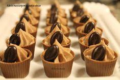 Balhétterem: Kávés-mascarponés bonbon Mousse, Sweet Tooth, Food And Drink, Sweets, Candy, Cookies, Chocolate, Baking, Tableware
