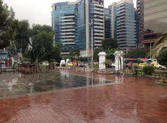 Rainy Bogota