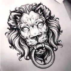 Ideas Tattoo Lion Design Tatoo For 2019 Lion Tattoo Design, Tattoo Design Drawings, Best Tattoo Designs, Tattoo Sketches, Lion Design, Face Design, Skull Drawings, Design Design, Lion Head Tattoos