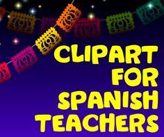 Language Teachers' Cafe: Spanish Teacher Clipart
