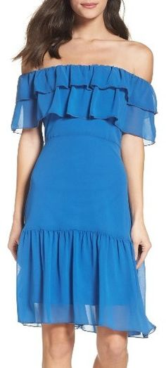 Women's Nsr Ruffle Dress