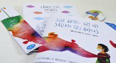 """#LIBRO #INFANTIL #CROWDFUNDEADO #CROWDFUNDING """"Aquí dentro hay un secreto para héroes"""" es un álbum ilustrado que narra la realidad de los niños de NUPA , donde un niño llamado Martín, explica desde su inocencia su visión de las cosas importantes de la vida. Un cuento para que aprendan niños y adultos, sanos y enfermos. ¿Nos ayudas a publicarlo? Recompensas: libro+ libreta+ marcapáginas. http://www.verkami.com/projects/8033-aqui-dentro-hay-un-secreto-para-heroes Crowdfunding verkami"""