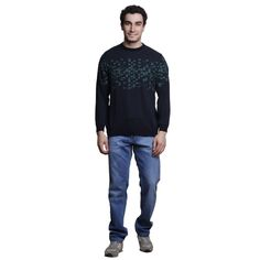 Buy MSG Green Round Neck Sweater Online at cheap prices from Shopkio.com: India`s best online shoping site