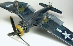 """Diego Quijano Scaleworks: GUEST GALLERY: Vought F4U1-D Corsair """"White 167"""" 1/48 by MAREK VRZÁK."""
