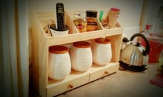 Kitchen counter organizer, compact kitchen storage ideas, small kitchen storage ideas