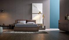 Modernes Schlafzimmer von Livitalia mit schwebendem Bett und ...
