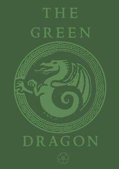 """... but the only brew for the brave and true comes from that Green Dragon!""  Hang above drinks?"