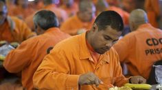 """Nearly a quarter of the inmates in federal prisons were born outside the United States, and more than half of those have final deportation orders, the Department of Justice said Tuesday. The Justice Department published statistics on the prison population to comply with directives in President Donald Trump's January executive order overhauling the immigration system. """"Illegal aliens who commit additional crimes in the United States are a threat to public safety and a burden on our criminal…"""