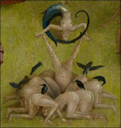The Garden of Earthly Delights detail by Hieronymus Bosch