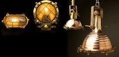 Vintage Ships Lighting