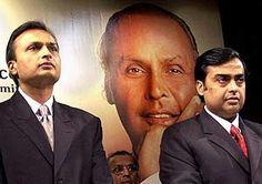 Ambani brothers signed a 12 billion rupees deal.
