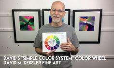 "David's ""Simple Color System"" Color Wheel"