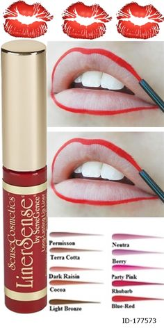 LinerSense is designed to define, blend and complement all LipSense Liquid Lip Colour