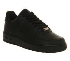 Nike Air Force 1 GS Blkblk - Kids Trainers