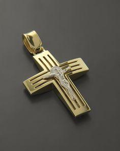 Cross Necklaces, Cross Jewelry, Gold Jewelry, Christian Symbols, Cross Designs, Ring Earrings, Cross Pendant, Crosses, Artisan Jewelry