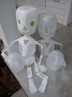 halloween ghost lights from milk jugs | Craft some Halloween decorations for the holiday | MLive.com