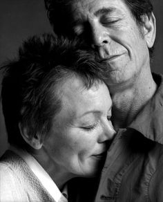 Guido Harari, Lou Reed and Laurie Anderson, 2002