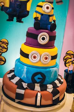 One in a Minion Birthday Party {Despicable Me}