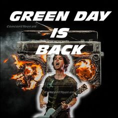 Looks like GREEN DAY is back! New Music video below for Bang Bang, and a whole…