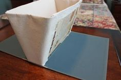 My Junk Obsession: How to Make a Book Purse///No Sewing!!!