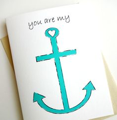 You Are My ANCHOR - Anniversary - Birthday - Wedding - Groom - Fiance - Boyfriend
