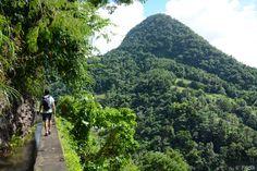 Une randonnée vertigineuse sur le Canal des Esclaves Beauregard, French West Indies, World Domination, Travel With Kids, Places To See, Photos, Country Roads, France, Traveling