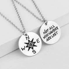 2 FOR 1 COMPASS NECKLACE  - FREE SHIPPING