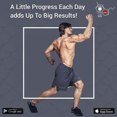 A little progress each day adds up to big results!