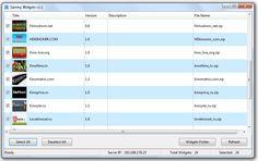 Веб сервер Sammy Widgets v1.1