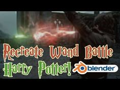 Recreate the Wand Battle from Harry Potter! - Blender VFX Tutorial! - YouTube