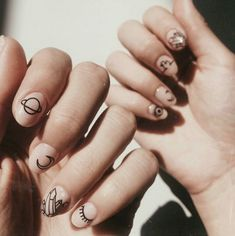 Nails, must read post tip. Pop by this informative nail art 7836999061 right now. Minimalist Nails, Nail Swag, Simple Nail Art Designs, Nail Designs, Cute Nails, Pretty Nails, Planet Nails, Mens Nails, Nagel Gel
