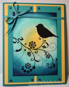 At the Days End – Stampin' Up! Card