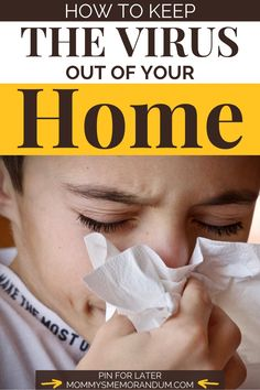 In order to get the virus under control, we all need to play our part; and that begins at home. Creating a virus-free environment at home requires you to stay constantly vigilant and listen to medical and scientific experts. The last thing you want to do is to bring the virus into your home and put your family in danger. Read article for more info #virus #virusfreehome #virusfreeenvironment #kidshealth #momlifehacks
