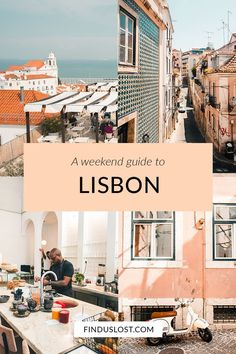 The Lisbon Travel Guide features the best things to do in Lisbon, including: can't-miss restaurants, neighborhoods, sights and more in Portugal's trendiest city, as well is inspiration for a day trip to Sintra. Click through for the full guide via Find Us Lost. #lisbon #portugal #sintra #travelguide #finduslost