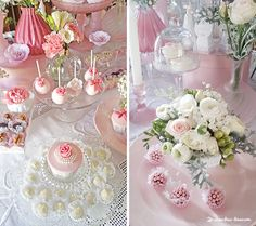 You searched for label/batizado - Lima Limão Roses, Romantic, Table Decorations, Party, Flowers, Beautiful, Parties, Pink, Romantic Things