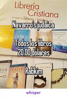 Navarro's judaica   Todos los libros  20.00 dolares  Rabkim