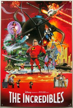 The Incredibles by Robert E. McGinnis
