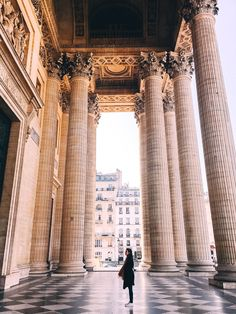 Paris pantheon trip