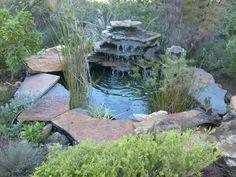estanque de jardn pequeo
