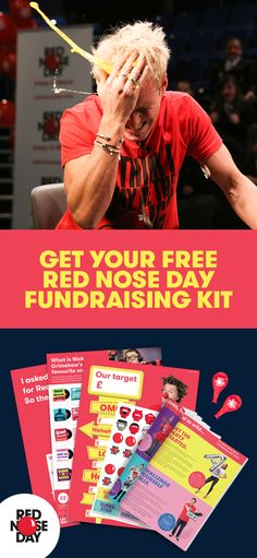 Red Nose Day is back! Join in and make the world a better place on Friday, 24th March. Order a free Fundraising Kit, full of ideas, tips and materials that will make this your best fundraising year yet. Whether you host a bake sale, get sponsored to dye y
